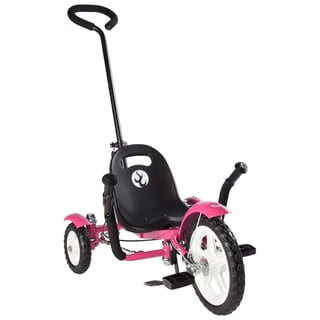 Mobo Tot Toddler's 2-in-1 Pink Ergonomic 3-wheeled Cruiser