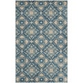 Safavieh Handmade Wyndham Blue New Zealand Wool Area Rug (4' x 6')