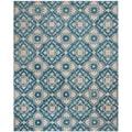 Safavieh Handmade Wyndham Blue New Zealand Wool Rug (8' x 10')