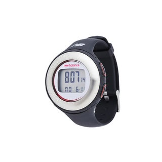 New Balance Black Heart Rate Monitor HRT Slim Fitness Watch and Pedometer