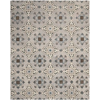 Safavieh Handmade Wyndham Beige New Zealand Wool Rug (8' x 10')