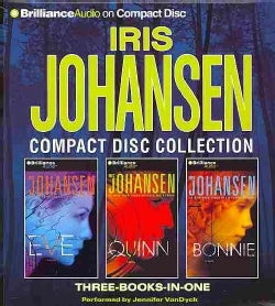Iris Johansen Compact Disc Collection: Eve / Quinn / Bonnie (CD-Audio)
