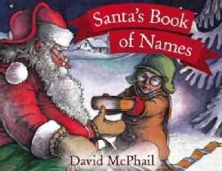 Santa's Book of Names (Paperback)