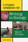 A Student Handbook for Writing in Biology (Paperback)