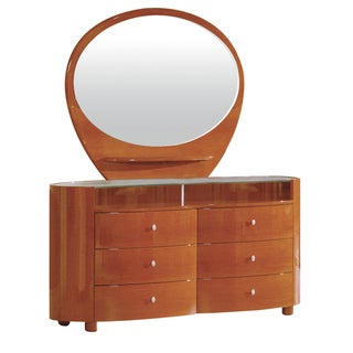 Emily/ Evelyn Cherry Finish Mirror