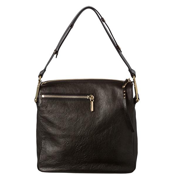 Chloe 'Vanessa' Medium Black Leather Shoulder Bag