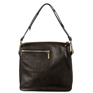 Chloe 'Vanessa' Medium Black Leather Shoulder Bag