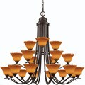 Esquire 21-light Oil Rubbed Bronze Chandelier
