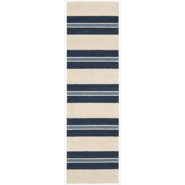 Barclay Butera by Nourison Oxford Awning Stripe Rug (2'3 x 8')