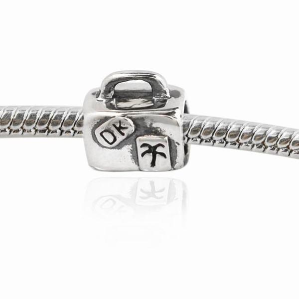 De Buman Sterling Silver Handbag Charm Bead