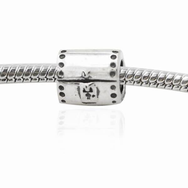 De Buman Sterling Silver Treasure Box Charm Bead