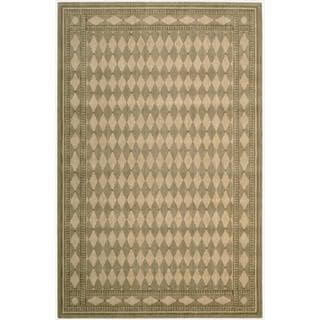 Cosmopolitan Honey Diamond Print Rug (9'9 x 13'9)