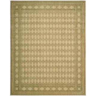 Cosmopolitan Honey Diamond Print Rug (7'6 x 9'6)