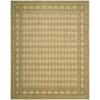 Cosmopolitan Honey Diamond Print Rug (8'3 x 11'3)