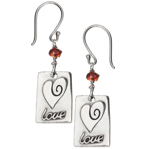 Red Love Earrings (Nepal)