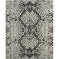 Safavieh Handmade Wyndham Grey New Zealand Wool Rug (8' x 10')