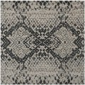 Safavieh Handmade Wyndham Grey New Zealand Wool Rug (7' Square)