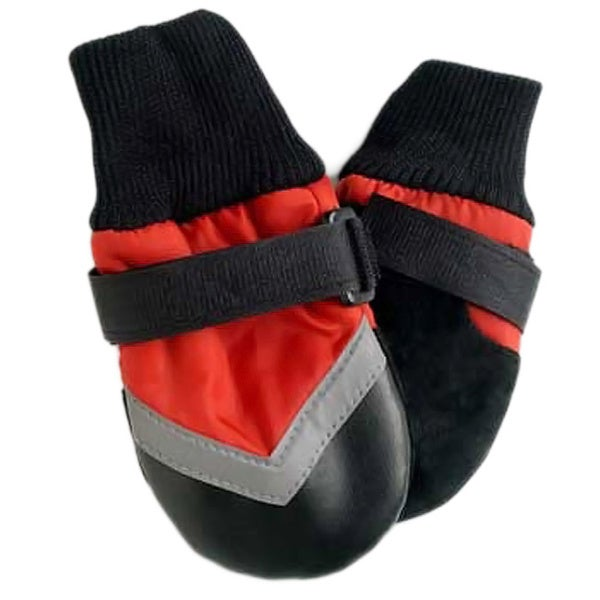 Ethical Pet Products Red All-weather Boots (4.25-inch paws)