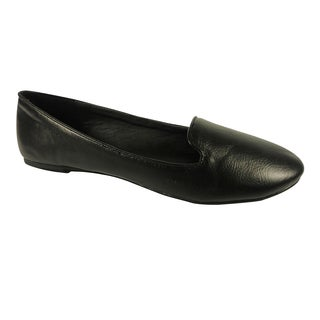 Betani by Beston Black Women's Smoking Flats