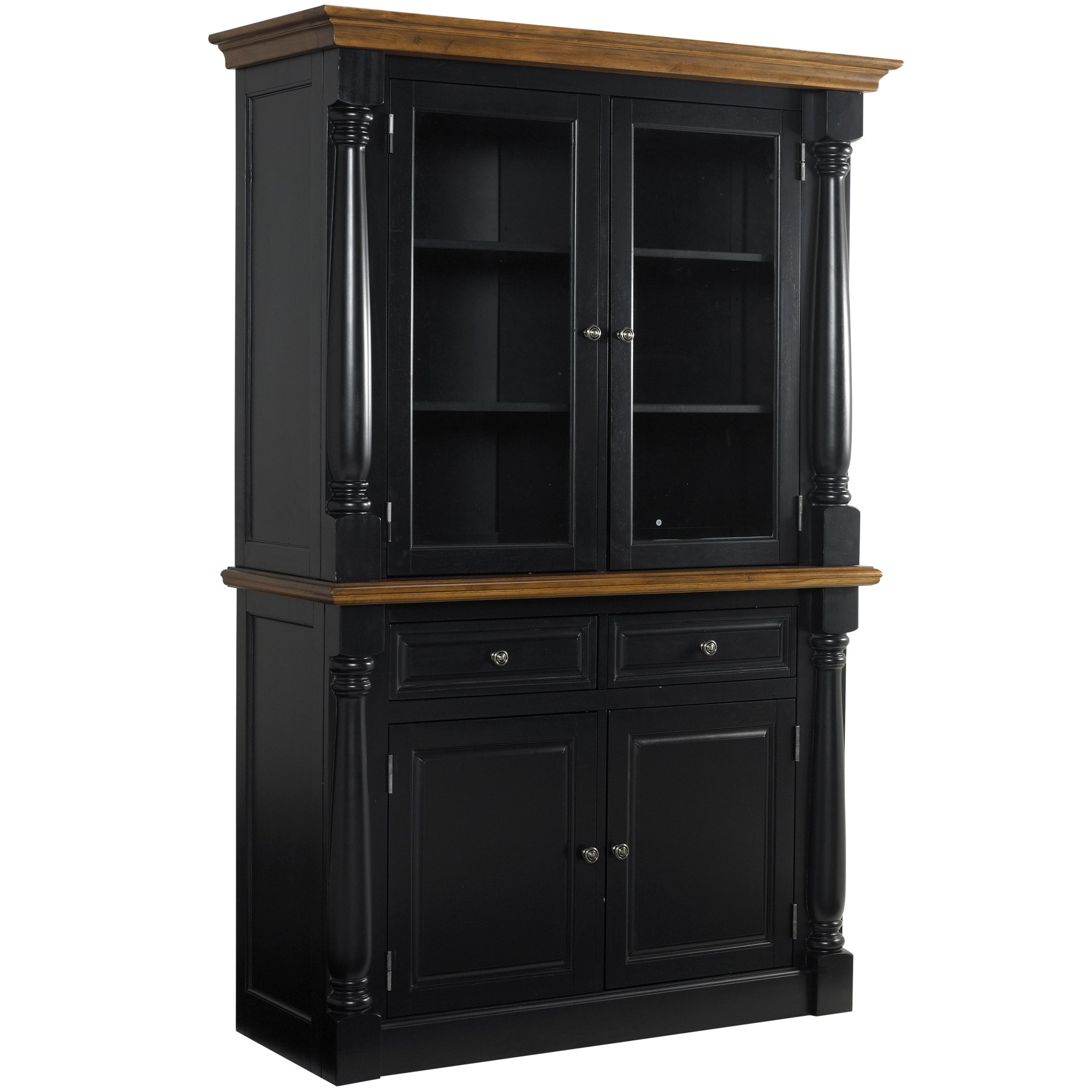 Monarch Black Buffet and Hutch at Sears.com