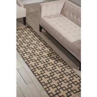 Barclay Butera Maze Dove Area Rug by Nourison (7'9 x 10'10)