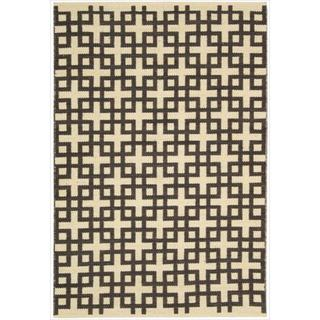 Barclay Butera by Nourison Maze Bark Flatweave Rug (7'9 x 10'10)