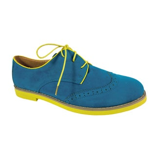 Betani by Beston Women's 'Patty' Blue Oxford Shoes