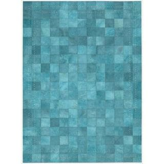 Barclay Butera Leather Sky Medley Rug (5'3 x 7'5) by Nourison