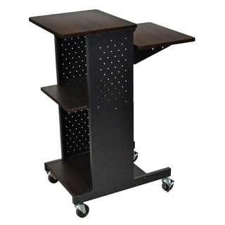 Luxor Walnut Presentation Workstation