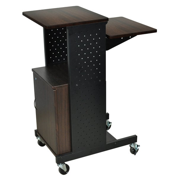 Luxor Presentation Workstation with Cabinet