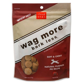 Cloud Star Wagmore Soft Pumpkin Pie Dog Treats (6-ounce)