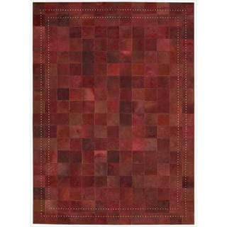 Barclay Butera Leather Scarlet Medley Rug (4' x 6')  by Nourison