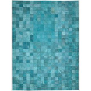 Barclay Butera Leather Sky Medley Rug (8' x 11') by Nourison