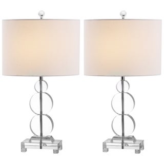 Safavieh Indoor 1-light Moira Crystal Table Lamps (Set of 2)