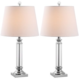 Indoor 1-light Zara Crystal Table Lamps (Set of 2)