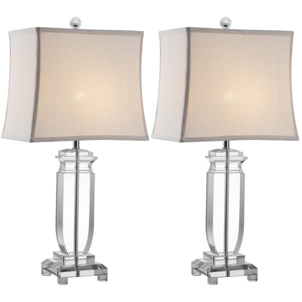 Safavieh Indoor 1-light Olympia Crystal Table Lamps (Set of 2)