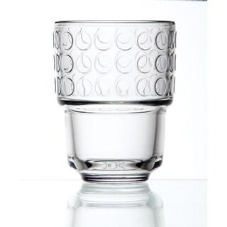 La Rochere 'Rondo' Decor 8.25-oz Water Glasses (Set of 6)