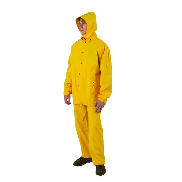 Texsport PVC 3-piece Medium Yellow Rain Suit