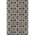 Hand-tufted Sittard Grey Geometric Wool Rug (8&#39; x 11&#39;)