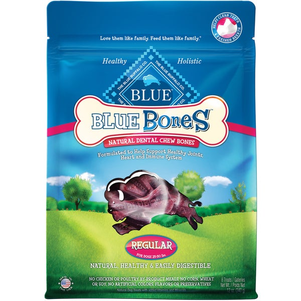 Blue Buffalo Regular Dog Bones (12-ounce)