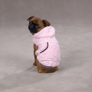Casual Canine Snowbaby Pink Pet Hoodie