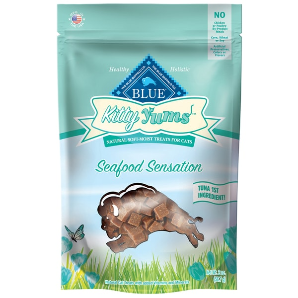 Blue Buffalo Cat Seafood Kitty Yums (2-ounces)
