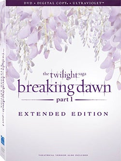 The Twilight Saga: Breaking Dawn Part 1 (DVD)