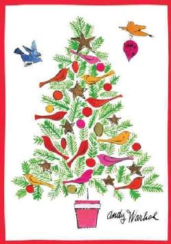 Warhol Christmas Tree Holiday Half Note (Cards)
