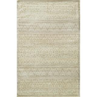 Francis Slate and Gold Rug (3'3 x 5'3)