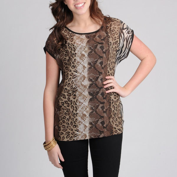AnnaLee + Hope Women's Animal and Reptile Print