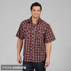 Farmall IH Men's Western Plaid Shirt at Amazon Men's Clothing