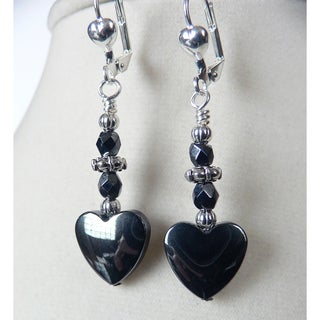 'Zena' Hemalyke Heart Earrings