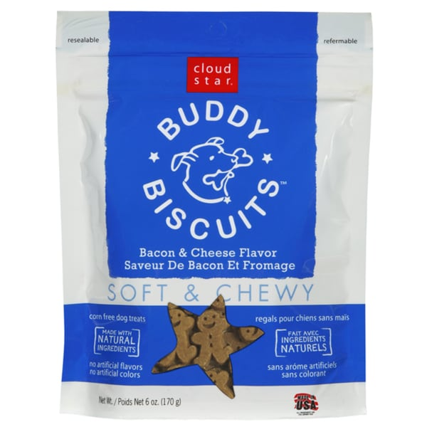 Coud Star Bacon Cheese Buddy Biscuits