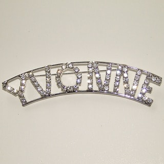 Detti Originals 'Yvonne' Crystal Name Pin
